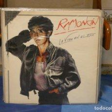 Discos de vinilo: LP RAMONCIN LA VIDA EN EL FILA EDICION FAMA GATEFOLD MUY BUEN ESTADO GENERAL. Lote 269825468