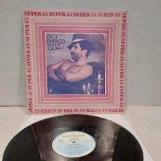 Discos de vinilo: PAUL PARKER / SHOT IN THE NIGHT / MAXI SG - HISPAVOX-1983 / MBC. ***/***. Lote 269826698