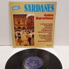 Disques de vinyle: COBLA BARCELONA / SARDANES / LP - BELTER-1980 / MBC. ***/***. Lote 269828273