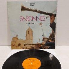 Discos de vinilo: COBLA BARCELONA / SARDANES / LP - OLYMPO-1972 / MBC. ***/***. Lote 269829063