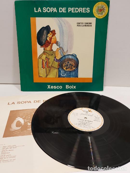 XESCO BOIX / LA SOPA DE PEDRES / CONTES I CANÇONS PER A LA MAINADA / LP-PARDAL / MBC.***/*** ENCARTE (Música - Discos - LPs Vinilo - Música Infantil)