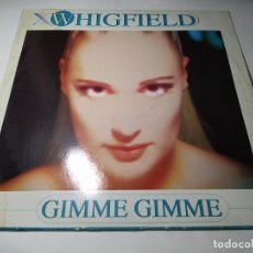 Dischi in vinile: MAXI - WHIGFIELD – GIMME GIMME - NM 1508 MX ( VG+ / VG+ ) SPAIN 1996. Lote 269831648