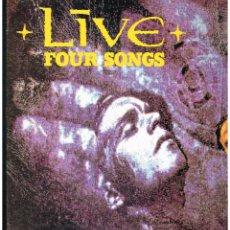 Discos de vinilo: LIVE - FOUR SONGS - MAXI SINGLE 1991 - ED. UK. Lote 269839573