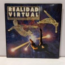 Discos de vinilo: REALIDAD VIRTUAL - MUSICA ELECTRÓNICA / EURO HOUSE. 2XVINILO (DOBLE LP, RECOPILACIÓN). 1994 CCM2.. Lote 269848418