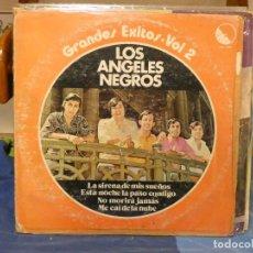 Discos de vinilo: LP VENEZUELA 1977 LO MEJOR DE LOS ANGELES NEGROS 2 CIERTO USO, AUN DECENTE. Lote 269850393