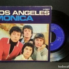 Discos de vinilo: LOS ANGELES, MONICA , TE PRESENTI, SINGLE HISPAVOX 1970 PEPETO. Lote 269851943