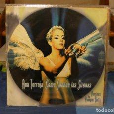 Discos de vinilo: MAXI SINGLE ANA TORROJA MECANO COMO SUENAN LAS SIREÑAS REMIXES PUMPING DOLL BUEN ESTADO. Lote 269934033