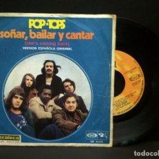 Discos de vinilo: POP - TOPS - SOÑAR, BAILAR Y CANTAR / ANY TIME. EDITADO POR MOVIEPLAY. SINGLE 1.970 PEPETO. Lote 269939843