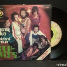 Discos de vinilo: POP TOPS - MAMY BLUE - LOVE MOTION - EXPLOSION SINGLE 1971 PEPETO. Lote 269940303