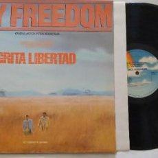 Discos de vinilo: LP BANDA SONORA GRITA LIBERTAD. CRY FREEDOM, ORIGINAL MOTION PICTURE SOUNDTRACK. 1987 MCA RECORDS.. Lote 269945418