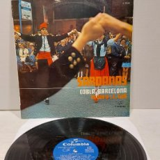 Disques de vinyle: COBLA BARCELONA / J. COLL / LP - COLUMBIA-1969 / MBC. ***/***. Lote 269957463