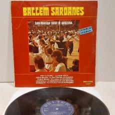 Discos de vinilo: COBLA MUNICIPAL CIUTAT DE BARCELONA / BALLEM SARDANES / LP - BELTER-1980 / MBC. ***/***. Lote 269957793