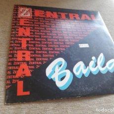 Discos de vinilo: ZENTRAL-BAILA. MAXI. Lote 269958428
