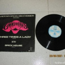 Discos de vinilo: COMMODORES - THREE TIMES A LADY - MAXI - HOLLAND - MOTOWN - IBL -. Lote 269959123