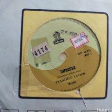 Discos de vinilo: FRANCISCO XAVIER SINGLE TIMBAOBA BRASIL 1966. Lote 269961533