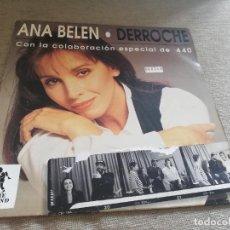 Discos de vinilo: ANA BELEN-DERROCHE. CON LA COLABORACION ESPECIAL DD 440. MAXI. Lote 269961638