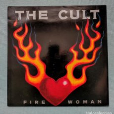 Discos de vinilo: THE CULT - FIRE WOMAN (MAXI). Lote 269971768