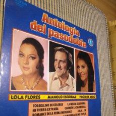 Discos de vinilo: ANTOLOGÍA DEL PASODOBLE 1. BELTER. Lote 269974703