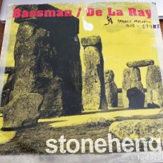 "Discos de vinilo: BASSMAN / DE LA RAY – STONEHENGE OVERDOSE – DOSE 016 12"".ESPAÑA 1995. MUSICA MAKINA. VG+ / G+. Lote 269980178"