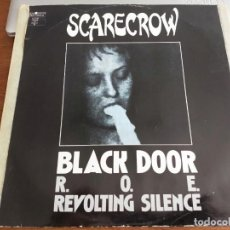 "Discos de vinilo: SCARECROW – BLACK DOOR. 1989. TECHNO DROME INTERNATIONAL.ZYX RECORDS – ZYX 6089-12. 12"". VG+ / VG. Lote 269981968"