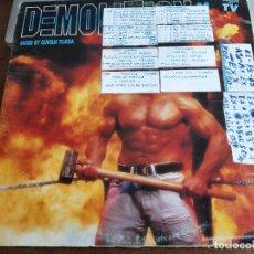 Discos de vinilo: DEMOLITION MIX BLANCO Y NEGRO,TECNIFÓN,MIXED BY QUIQUE TEJADA MXLP-490 VINYL, LP. 1994, VG+/ VG. Lote 269983058
