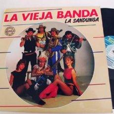Discos de vinilo: LA VIEJA BANDA-MAXI LA SANDUNGA-BUEN ESTADO. Lote 269984098