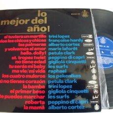 Discos de vinilo: LO MEJOR DEL AÑO-LP ESPAÑOL 1964-NUEVO.. Lote 269984898