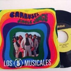 Discos de vinilo: LOS 5 MUSICALES-SINGLE CARRUSEL. Lote 269984948