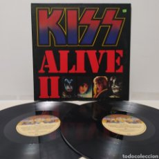 Discos de vinilo: KISS - ALIVE II ED ALEMANA 1977 GATEFOLD. Lote 269986033