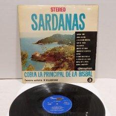 Discos de vinilo: COBLA LA PRINCIPAL DE LA BISBAL / SARDANAS / R. VILADESAU / 3 / LP - DISCOPHON-1963 / MBC. ***/***. Lote 269990228