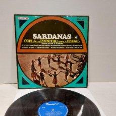 Discos de vinilo: COBLA LA PRINCIPAL DE LA BISBAL / SARDANAS / R. VILADESAU / 4 / LP - DISCOPHON-1967 / MBC. ***/***. Lote 269990538