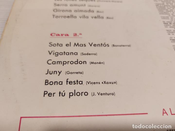 Discos de vinilo: COBLA LA PRINCIPAL DE LA BISBAL / SARDANAS / R. VILADESAU / 2 / LP - DISCOPHON-1961 / MBC. ***/*** - Foto 4 - 269990613