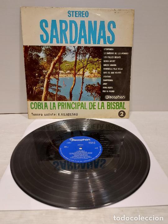COBLA LA PRINCIPAL DE LA BISBAL / SARDANAS / R. VILADESAU / 2 / LP - DISCOPHON-1961 / MBC. ***/*** (Música - Discos - LP Vinilo - Country y Folk)