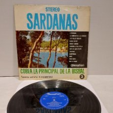 Discos de vinilo: COBLA LA PRINCIPAL DE LA BISBAL / SARDANAS / R. VILADESAU / 2 / LP - DISCOPHON-1961 / MBC. ***/***. Lote 269990613
