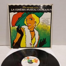 Discos de vinilo: MARI SANTPERE PRESENTA LA COMEDIA MUSICAL CATALANA / LP - PUPUT-1979 / MBC. ***/***. Lote 269991118