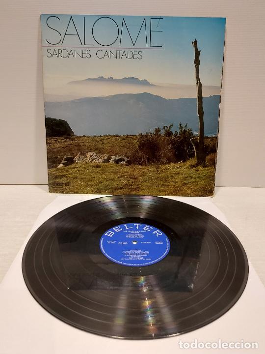SALOMÉ / SARDANES CANTADES / LP-GATEFOLD - BELTER-1971 / MBC. ***/*** (Música - Discos - LP Vinilo - Country y Folk)