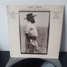 Discos de vinilo: JORGE CAFRUNE. CANTA A FALU, YUPANQUIN Y DAVALOS. CBS. 1972. SPAIN.. Lote 269993233