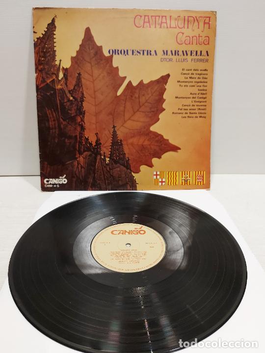 ORQUESTRA MARAVELLA / LLUÍS FERRER / CATALUNYA CANTA / LP - CANIGÓ-1968 / MBC. ***/*** (Música - Discos - LP Vinilo - Orquestas)