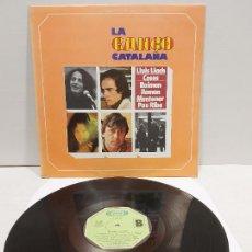 Discos de vinilo: LA CANÇÓ CATALANA / DIVERSOS ARTISTAS / LP - MOVIE PLAY-1977 / MBC. ***/***. Lote 269993748