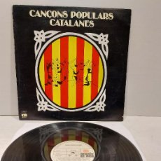 Discos de vinilo: CANÇONS POPULARS CATALANES / VARIOS GRUPOS / LP - ARIOLA-1977 / MBC. ***/***. Lote 269994388