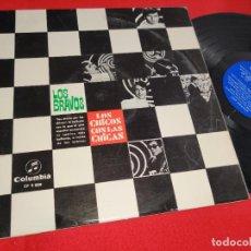 Discos de vinilo: LOS BRAVOS LOS CHICOS CON LAS CHICAS LP 1967 COLUMBIA CP 9009 MONO. Lote 269997568