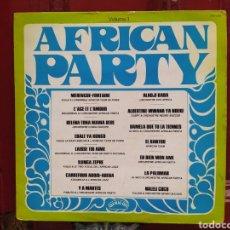 Discos de vinilo: AFRICAN PARTY (VOL. 1) LP VINILO ORIGINAL DE 1976. RUMBA AFRICANA.. Lote 270002688