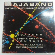 Discos de vinilo: VINILO MAXI/MAJABAND/INTRODUCING POLICE HITS.. Lote 270088038