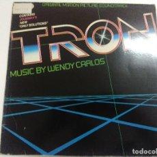 Discos de vinilo: VINILO/TRON/WENDY CARLOS/ORIGINAL MOTION PICTURE SOUNDTRACK.. Lote 270089963