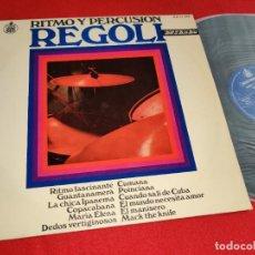 Discos de vinilo: REGOLI RITMO Y PERCUSION LP 1968 HISPAVOX LATIN BREAKS BOSSA. Lote 270094638