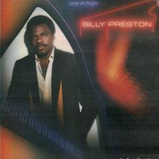 Disques de vinyle: BILLY PRESTON - LATE AT NIGHT / LP MOTOWN DE 1980 / BUEN ESTADO RF-9745. Lote 270094778