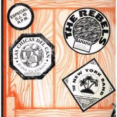 Discos de vinilo: MOJATE CON MUCHA SALSA - THE NEW YORK BAND / LALO RODRIGUEZ... - MAXI SINGLE 1990 - ED. ESPAÑA PROMO. Lote 270096843