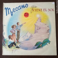 Disques de vinyle: MECANO YA VIENE EL SOL LP VINILO 1984. Lote 270104318