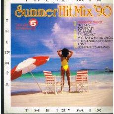 "Discos de vinilo: SUMMER HIT MIX '90 (THE 12"" MIX) - MAXI SINGLE 1990 - ED. ALEMANIA. Lote 270104423"
