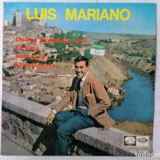 Discos de vinilo: DISCO SINGLE, LUIS MARIANO, DANZA ESPAÑOLA Nº 5 Y TRES MAS, AÑO 1964, LA VOZ DE SU AMO. Lote 270111123
